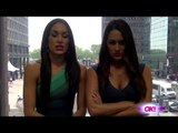 E!'s Total Divas & WWE's Bella Twins Turn Face - See Their Fiercest Faces!