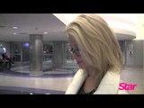 Holly Madison at LAX Airport