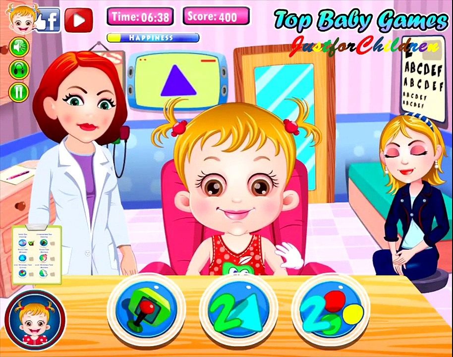 Baby Hazel Games | Eye Care Level 3 | Baby Games | Free Games | Games for Girls | Funny Games