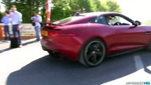 Supercars Leaving Cars & Coffee Italy part4