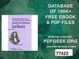 Gottfried Wilhelm Leibniz (Beck'sche Reihe)