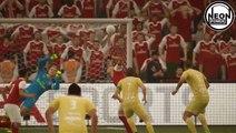 FIFA 17 FUT █ Tiki Taka - Top 5 Goals █ Vol. 2 █  part 2