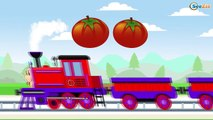 Trains for Children - Choo Choo Train | Learn to count - shapes and colors | Kids Trains Cartoons