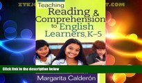Price Teaching Reading   Comprehension to English Learners, K-5   [TEACHING READING