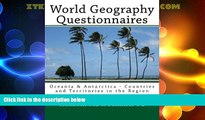 Best Price World Geography Questionnaires: Oceania   Antarctica - Countries and Territories in the