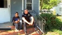 13 year old tells cop he wants to run away from home then tells him to look inside his room