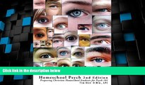 Price Homeschool Psych 2nd Edition: Preparing Christian Homeschool Students for Psych 101 Timothy