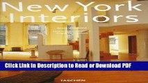 Read New York Interiors (Interiors (Taschen)) Free Books