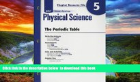 Buy NOW RINEHART AND WINSTON HOLT Holt Science Spectrum: Physical Science with Earth and Space
