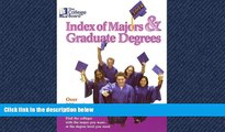 FAVORIT BOOK The College Board Index of Majors   Graduate Degrees 2004: All-New Twenty-sixth