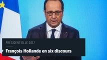 François Hollande en six discours