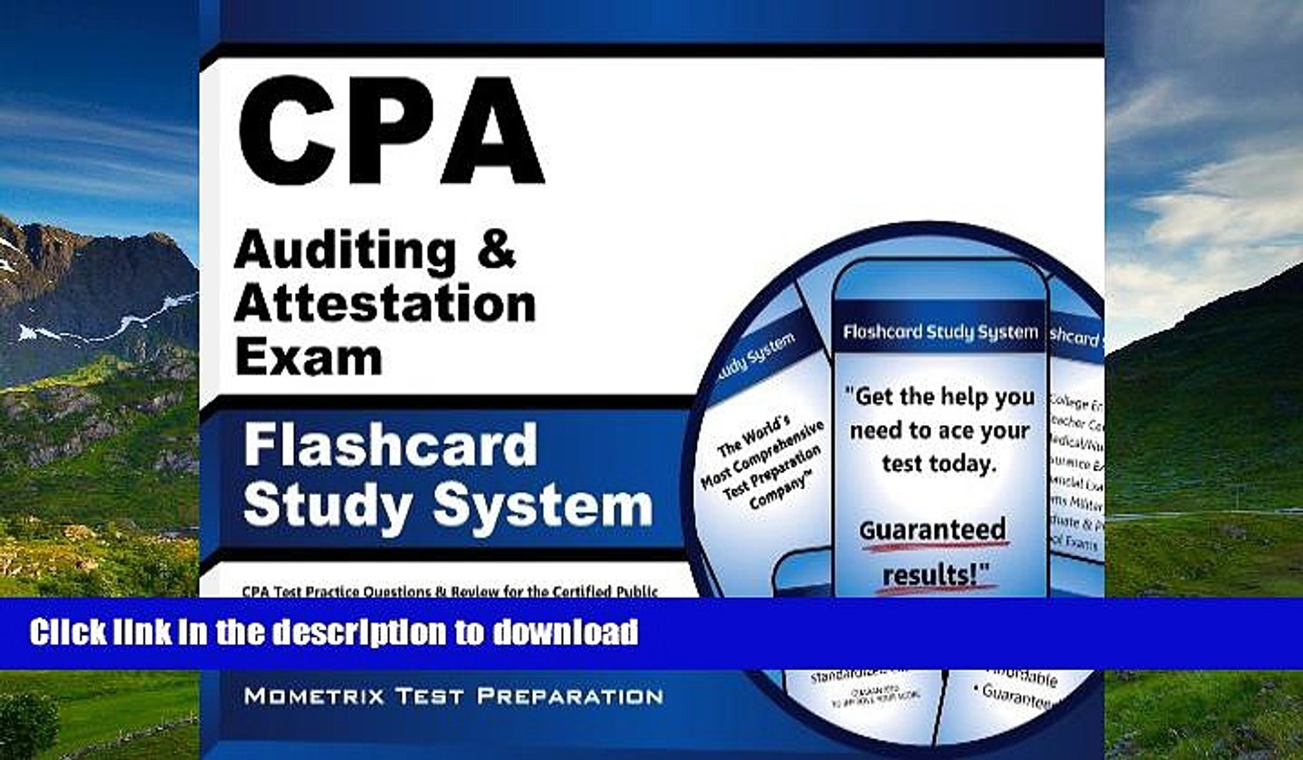 FAVORIT BOOK CPA Auditing Attestation Exam Flashcard Study System: CPA Test  Practice Questions
