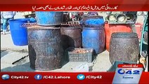 Punjab Food Authority Raids Data Gunj Buksh Market