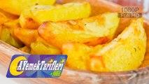 Fırında Elma Dilim Patates Nasıl Yapılır? | Fırında Elma Dilim Patates Tarifi