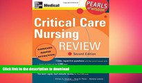 FAVORIT BOOK Critical Care Nursing Review: Pearls of Wisdom, Second Edition READ EBOOK