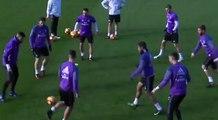 Sergio Ramos est chaud à l'entraînement du Real Madrid !