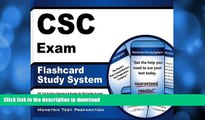 FAVORIT BOOK CSC Exam Flashcard Study System: CSC Test Practice Questions   Review for the Cardiac