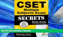 FAVORIT BOOK CSET Multiple Subjects Exam Secrets Study Guide: CSET Test Review for the California