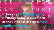 Celebrating Britney Spears' 35th birthday with her most iconic moments