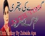 Gurday Ki Pathri Khatam Karne Ka Tariqa in Urdu - Urdu Totkay By Zubaida Apa