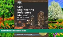 Online Michael  R. Lindeburg PE Civil Engineering Reference Manual for the PE Exam, 15th Ed
