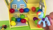 Casa de Peppa Pig con Huevos Sorpresa Surprise Eggs House Paw Patrol Patrulla Canina Frozen