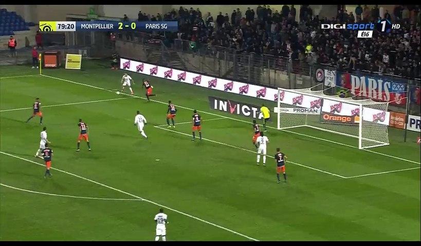 Ryad Boudebouz Goal Hd Montpellier 3 0 Psg 03 12 2016 Video Dailymotion