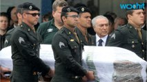 Brazilian Soccer Stars Mourned By Home Town