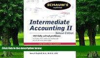 Best Price Schaum s Outline of Intermediate Accounting II, 2ed (Schaum s Outlines) Baruch Englard