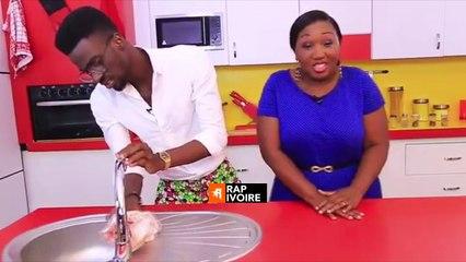 Le Rappeur ivoirien Suspect 95 sur RTI 2