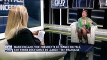 Marie Ekeland, vice-présidente de France Digitale - 02/12 (1/2)