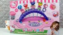 On fait des sucettes avec la pâte à modeler Hello Kitty lolly pops