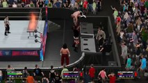 WWE 2K17 Extreme Moments and Fails Montage (S.3 Ep.18)(Annoucement Table Glitches )