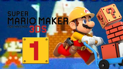 Lets Play - Super Mario Maker 3DS ONLINE [01] Vorbereitungen treffen