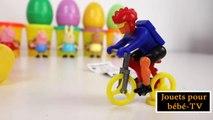 Jouets pour bébé Ouverture Peppa Pig Play Doh Surprise oeufs Kinder Surprise oeufs jouets