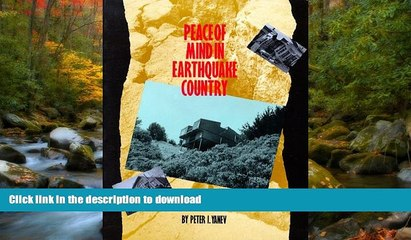 READ  Peace of Mind in Earthquake Country: Completely Revised and Expanded FULL ONLINE