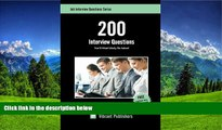 READ THE NEW BOOK 200 Interview Questions You ll Most Likely Be Asked (Job Interview Questions