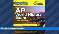 FAVORIT BOOK Cracking the AP World History Exam, 2016 Edition (College Test Preparation) Princeton