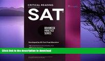 EBOOK ONLINE  SAT Critical Reading Workbook (Advanced Practice Series) (Volume 4) FULL ONLINE