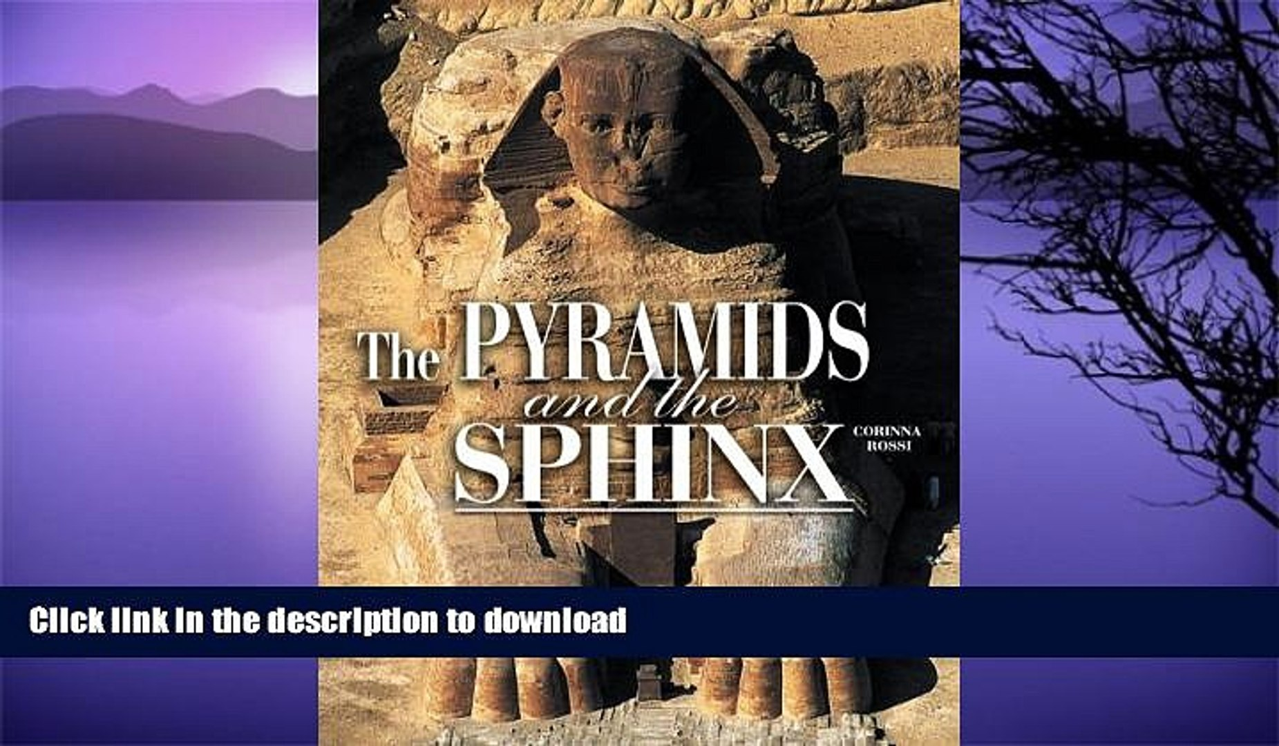 READ BOOK  The Pyramids and the Sphinx (Egyptian Treasures S.)  BOOK ONLINE