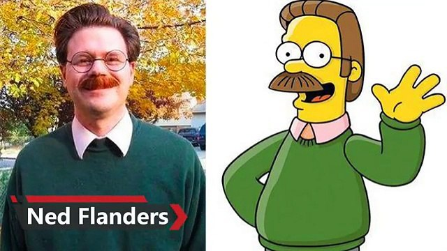 10 Real People Who Look Just Like Simpsons Characters
