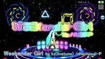 Weekender Girl ウィークエンダーガール - Hatsune Miku 初音ミク DIVA English lyrics Romaji subtitles