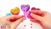 Comment faire avec pâte à modeler Play Doh Surprise Coeurs de Valentin, Mon Petit Poney