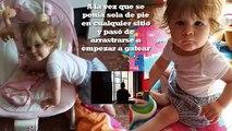 SUJETARSE EN PIE bebe 9-12 meses | Estimulación para levantarse | Bebé de 8 a 10 meses
