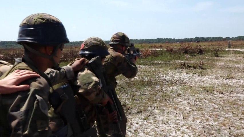 Campagne de tirs au Suriname 2016 3e REI (courte)