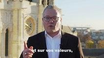 Laurent Russier, nouveau Maire de Saint-Denis