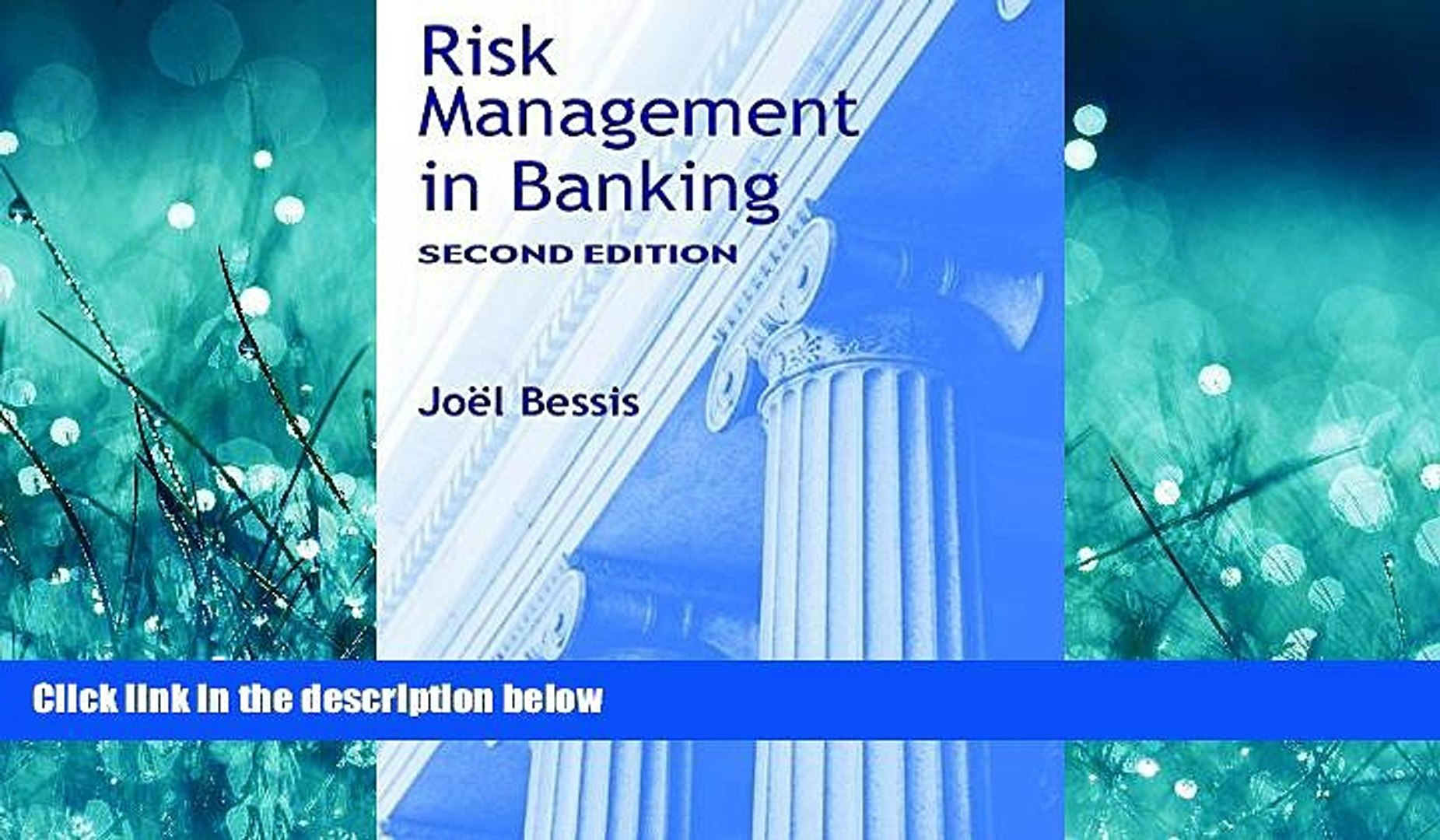 FREE PDF  Risk Management in Banking, 2nd Edition  DOWNLOAD ONLINE