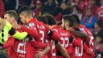 Chapecoense - La minute de silence avant Mayence-Bayern