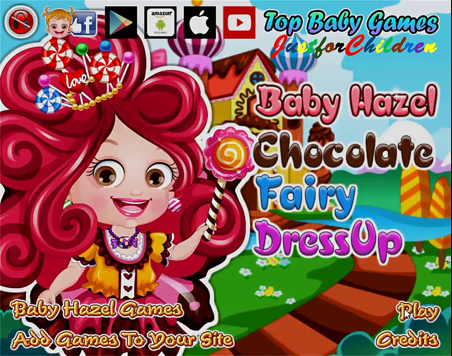 Baby Hazel Games | Dress up Games – CHOCOLATE FAIRY | Baby Games | Free Games | Games for Girls