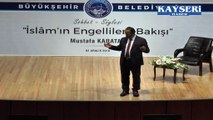 PROF. DR MUSTAFA KARATAŞ ENGELLİLERE KARŞI HERKES SORUMLUDURR